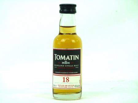 Tomatin 18 Years Old Speyside Malt 46% 0,05L