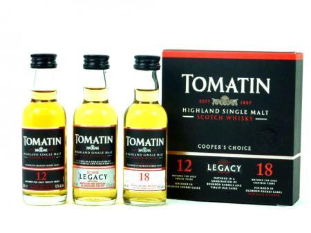Tomatin Cooper's Choice 3x0,05l (TOM12+TOM18+Legacy) 40-43% 0,15L