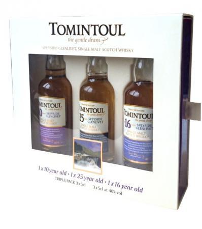 Tomintoul Tri-Pack Geschenkset 41% 3x0,05L