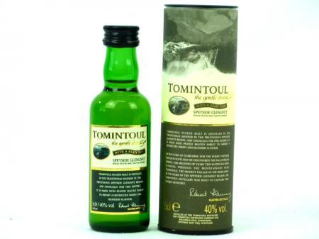 Tomintoul Peaty Tang Speyside Single Malt 40% 0,05L