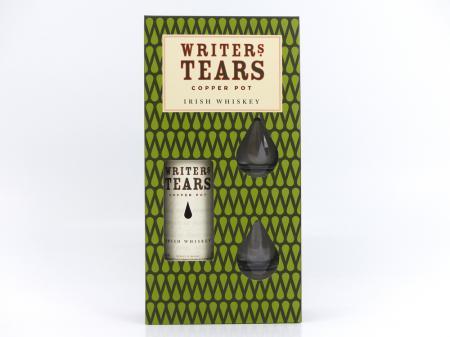 Writers Tears !Limitiert! 40% 0,7L Geschenkpackung mit 2 Gläsern
