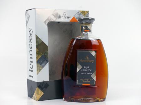 Hennessy Fine de Cognac Geschenkpackung 40% 0,7L Limitiert