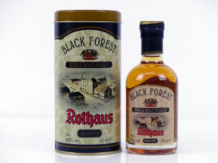 Black Forest Single Malt Rothaus Whisky 2016 43% 0,2L