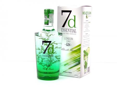7d Essential London Dry Gin 41% 0,7L