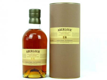 Aberlour Bourbon Cask 18 YO Highland Malt Whisky 43,0% 0,7L