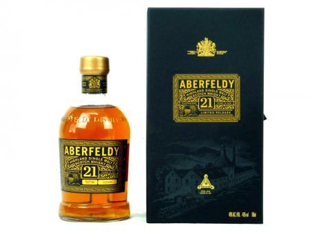 Aberfeldy 21 Years Old Highland Single Malt 40% 0,7L