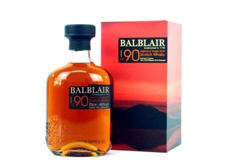 Balblair Vintage 1990 Highland Single Malt 46% 0,7L