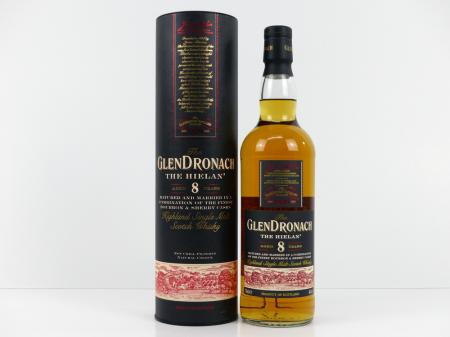 Glendronach 8 Years Old The Hielan 46% 0,7L