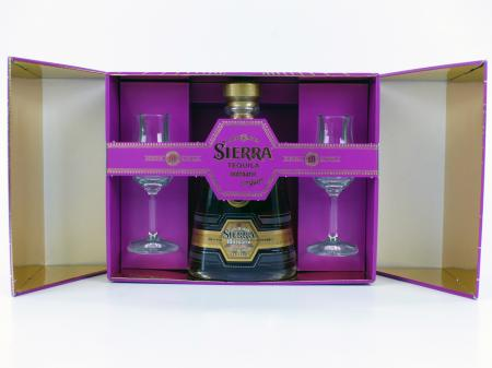 Sierra Milenario Ex Anejo Tequila Geschenkpackung 41,5% 0,7L Limitiert!