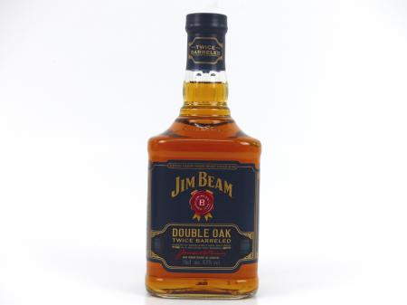 Jim Beam Double Oak Twiced Barreled 43% 0,7L