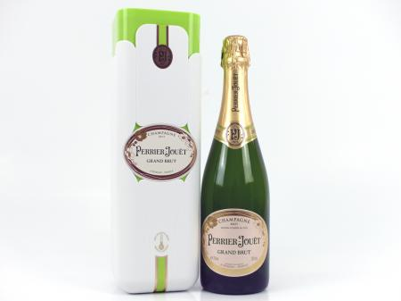 Perrier Jouet Grand Brut Champagner Geschenkpackung 12% 0,75L