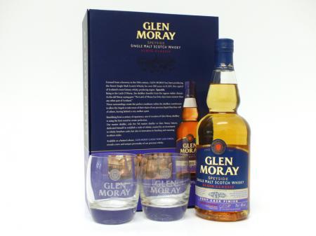 Glen Moray Port Cask Geschenkpackung mit 2 Gläser 40% 0,7L