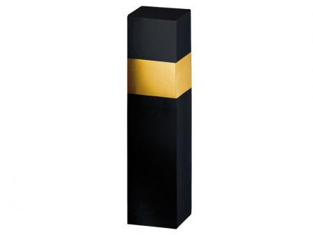 1er Geschenkkarton Gloss schwarz/gold  81x81x360mm