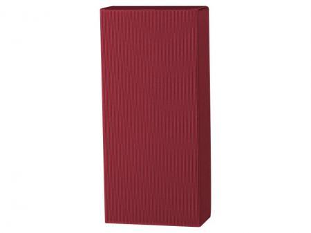 2er Geschenkkarton Welle Bordeaux 2x0,75l 360mm