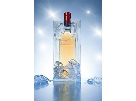 Tüte Flaschenkühler Ice.bag transparent für 0,75l