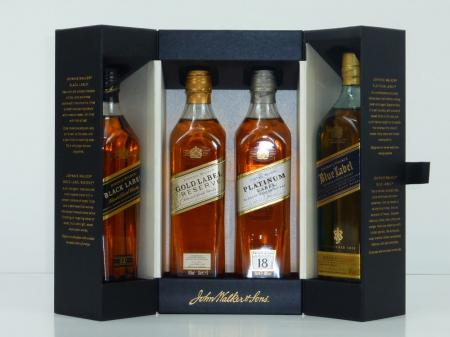 Johnnie Walker The Collection Set 40% (4x 0,2L)
