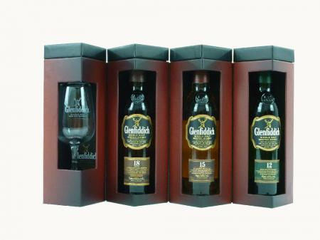 Glenfiddich Explorer´s Collection 40% (3x 0,2L)