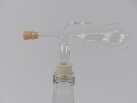 Glaskugelportionierer, Portionierer, Birne 19/17mm ca.3.0cl